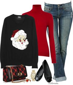 """""""Christmas Party"""" by archimedes16 on Polyvore"""