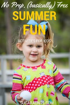 """Free or basically free activities for creative play this summer.  These are summer bucket list ideas and ways to keep the kids from fighting, bickering, and saying """"I'm bored!"""""""