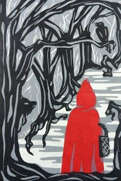 Little Red Riding Hood by ALEXIS426 (print image)