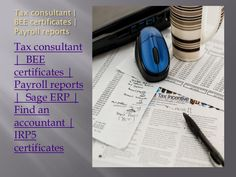 Bee Certificate, Accounting Services