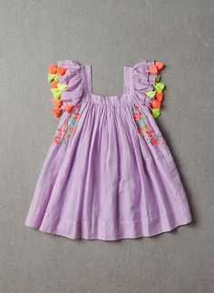 Nellystella Chloe Dress in Violet Petal - PRE-ORDER