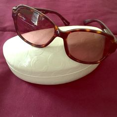 Coach sunglasses Good condition only used them like 3 times Coach Other