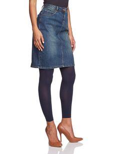 ESPRIT Damen Legging 19463 50 den 3/4 Legging, Gr. 36/38, Schwarz (black 3000): Amazon.de: Bekleidung
