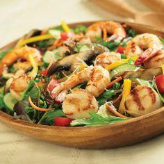Grilled Seafood Salad | MyRecipes.com
