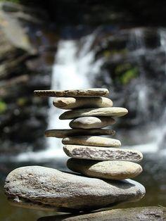 *Stone stack