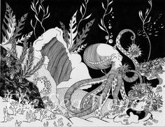 The Octopus's Garden by TheSeaWench on Etsy