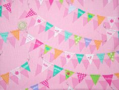 Bunting Sweet Dream Roslyn by M'Liss 100% Cotton - The Supermums Craft Fair