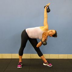 Tone Your Middle With the Kettlebell Windmill