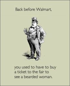 Before there was a Walmart...
