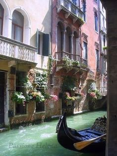 would love to cruise down this canal, or even stay in one of these homes