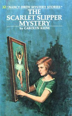 "Nancy Drew #32 - ""The Scarlet Slipper Mystery"""
