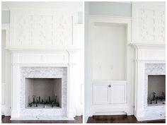 custom fireplace design Tiek   by The Estate of Things