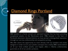 Diamond rings portland Custom Jewelry Design, Custom Design, Diamond Rings, Diamond Engagement Rings, Diamond District, Jewelry Shop, Portland Shopping, How To Memorize Things, Antique