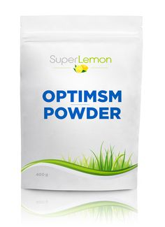 OptiMSM from SuperLemon Superlemon.fi