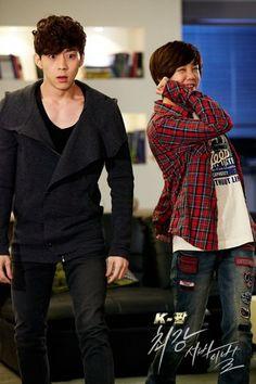 Go Eun Ah, Park Yoo Hwan. The k-pop ultimate audition.