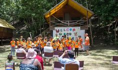 The Lodge at Chaa Creek is proud to present the 24 Newly Emerged Belizean Environmentalist from the Eco-Kids Summer Camp 2015!  Check out details of the last days of summer camp & closing ceremonies here: http://belize-travel-blog.chaacreek.com/2015/07/belize-eco-kids-summer-camp-2015-wrap-up/