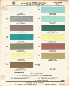 1957 Chevrolet Bel Air | Larkspur Blue | Code 795A Car Paint Color Kit