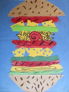 Deliciosas hamburguesas creadas por alumnos de 4º de EP.