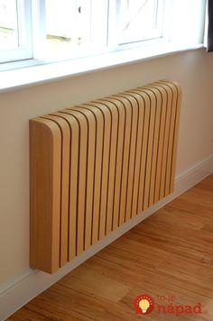 Wooden ash radiator cover: scandinavian by cool radiators? it's covered!, scandinavian wood wood effect Best Radiators, Home Radiators, Deco Design, Design Case, Cover Design, Modern Radiator Cover, Designer Radiator, Ideas Hogar, Wood Interiors