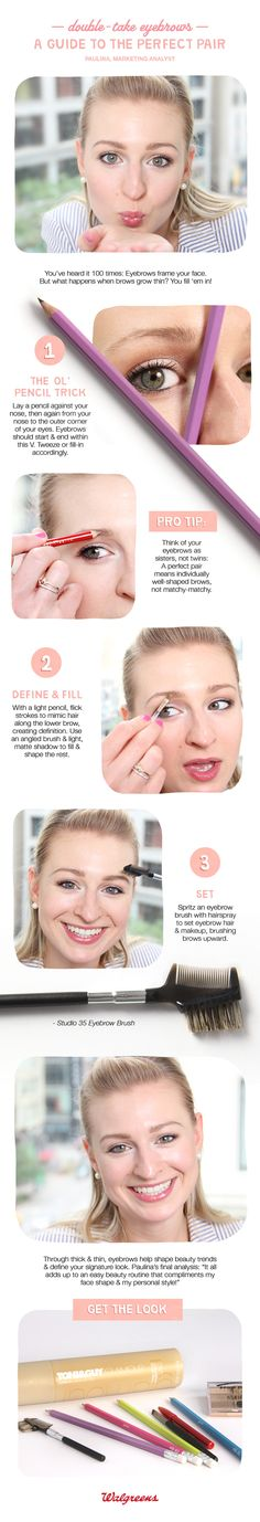 A guide to the perfect pair of eyebrows.