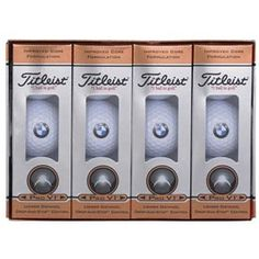 BMW Titleist ProV1 Golf Balls    http://www.shopbmwusa.com/ProductDetail.aspx?CategoryType=Lifestyle=2101