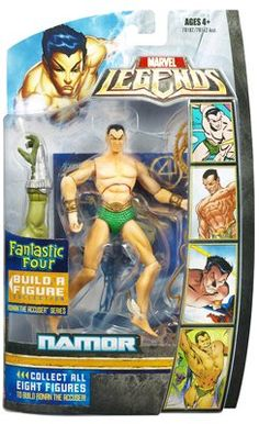 Fantastic Four Legends Series 1 SubMariner Action Figure -- More info could be found at the image url.