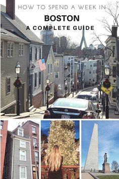 How to spend a week in Boston: a complete guide