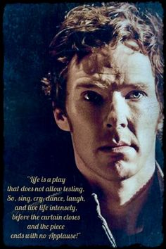 Celebrating the 41st birthday of the talented Benedict Cumberbatch (19 July, 1976).