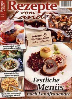 Advent & Weihnachten in der Hofküche. Gefunden in: Rezepte vom Land, Nr. 6/2014