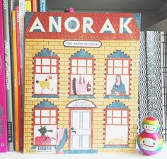 It's here! Hot off the press @anorakmag Happy Museum issue!  Cover by the incredibly talented @barbarawurszt My first issue as Chief Designer and part of #StudioAnorak Couldn't be happier! Thanks again @anorakmag for having me  #anorakmagazine #anorakmag #illustration #editorialdesign #thehappymuseum