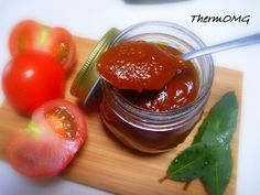 My family goes through their fair share of tomato sauce so I was quick to try and find a Thermomix recipe I could use. I tried quite a few but they fell short for me. We were used to Heinz Ketchup so we like a thick rich sauce but also wanted something with a little pizazz. So the experimenting b