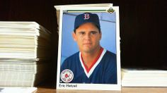 UPPER DECK 1990 ERIC HETZEL CARD# 673 BOSTON RED SOX. #BostonRedSox