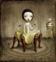 Spidergirl by Nicoletta Ceccoli