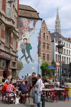 Brussels, Belgium. Twice here and in Leuven :) good times!