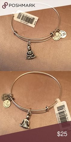 Alex & Ani Silver Finish Buddha Brand New With Tag! Ask me to help you with reduced shipping on all of my items! ⛔️ NO TRADES, NO PAYPAL, NO MERCARI, NO HOLDS ⛔️ smoke free, pet free home  let me know if you have other questions  PLEASE MAKE OFFERS THROUGH THE OFFER BUTTON. Alex & Ani Jewelry Bracelets