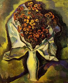 Charles Sheeler American, Chrysanthemums, 1912 oil, 24 x Fine Art Prints, Framed Prints, Canvas Prints, Art Deco Paintings, Botany, Poster Size Prints, Impressionist, American Art, Photo Greeting Cards