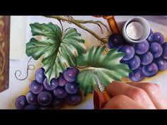 Uvas rosê e cesta - vídeo 2