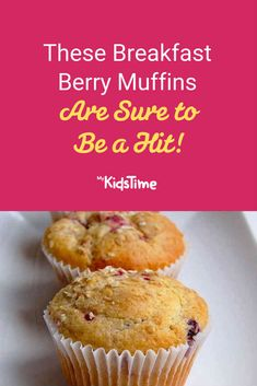 The whole family with love this recipe for delicious breakfast berry muffins – perfect for snacks, lunchboxes and great for freezing. Breakfast Recipes, Dessert Recipes, Berry Muffins, Lunchbox Ideas, Family Meals, Berries, Sweet Treats, Lunch Box, Yummy Food