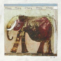 "Scott Bergey, Canadian, b. 1967. ""Chang, Chang."""
