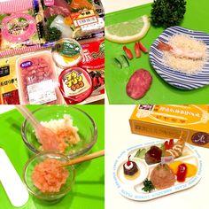 ゆたぽん's dish photo 舞台裏 マイクロお子様ランチ | http://snapdish.co #SnapDish #再現料理 #お昼ご飯