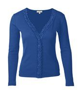 "Lace Trim Cardi, periwinkle. I must say ""periwinkle"" more saturated)."