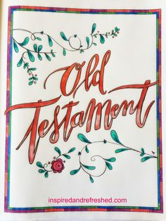 Bible Art and Journaling with ombre lettering:) Scripture Art, Bible Art, Connecting With God, Old And New Testament, Illustrated Faith, Study Inspiration, Bible Verses Quotes, S Word, Adult Coloring