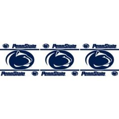 Penn State Nittany Lions NCAA 15ft Wall Paper Border Roll
