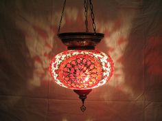 moroccan lantern glass light christal lamp lampada by meryemart