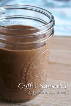 Wake up and treat your sweetie to a coffee smoothie for breakfast. Don't you wish date nights would never end?