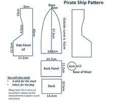 Resultado de imagen para molde barco