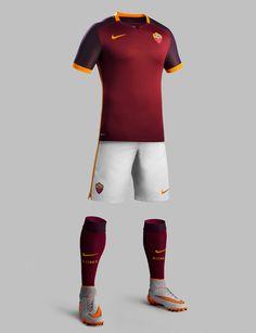 Nike AS Roma Home Kit 2015-16
