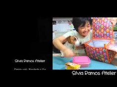 Parte final de Como eu faço a Bolsa Térmica Quadrada - YouTube
