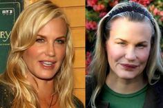Oh....my!  What the living hell did Daryl Hannah do to herself!