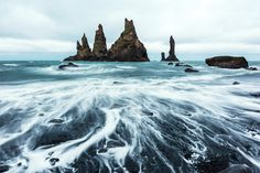 The Eerie Folktales Behind Iceland's Natural Wonders — National Geographic National Geographic Animals, National Geographic Photography, Saga, Alaska, Basalt Rock, Mountain Waterfall, Destinations, Europe, Iceland Travel
